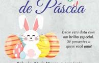 Dia 31 de Março é Sábado Legal de Páscoa!