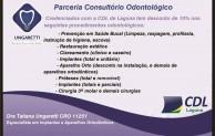 CDL de Laguna  firma Parceria com Consultório Odontológico