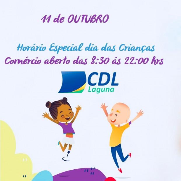 Horário Especial do comércio Dia das Crianças