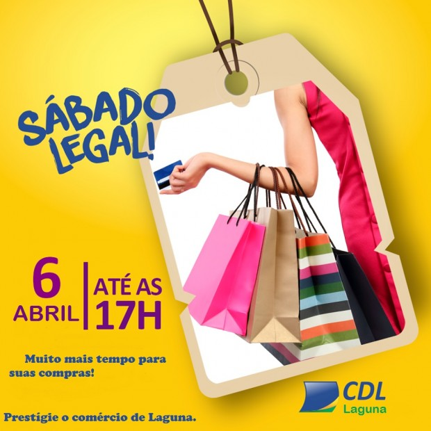 Dia 06 de Abril é Sábado Legal