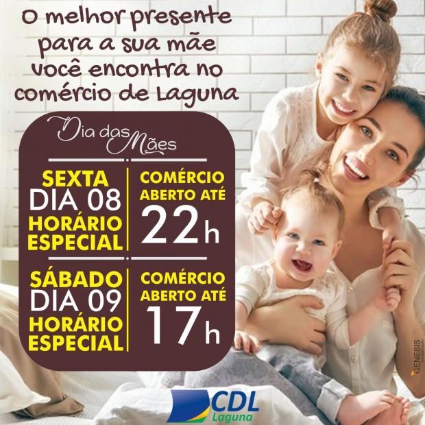 Horário especial no comércio para o Dia das Mães